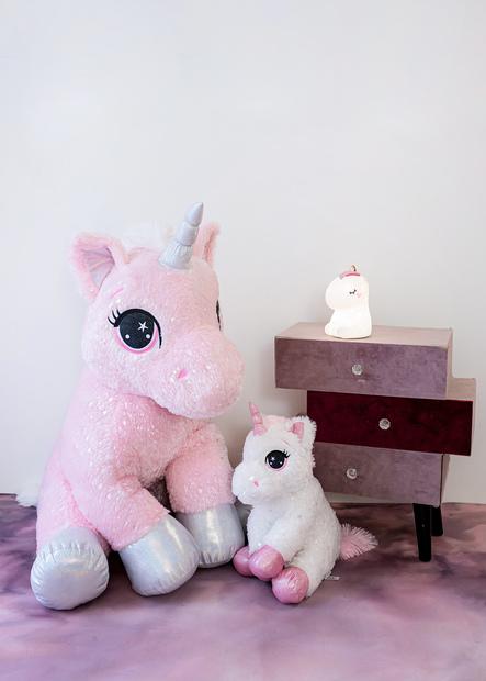 InnoGIO Maskotka GIOplush Unicorn Rosa GIO- 819ROSA 80cm (8)