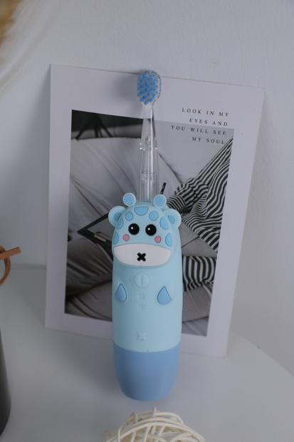 InnoGIO Soniczna Szczoteczka do zębów dla dzieci GIOgiraffe niebieska GIO-450BLUE (4)