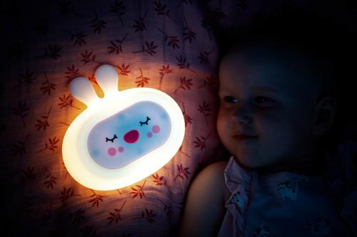 InnoGIO Silikonowa szumiąca lampka nocna GIOsleepy Bunny GIO-134 (12)
