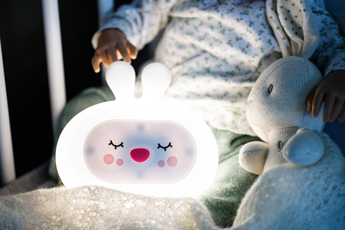 InnoGIO Silikonowa szumiąca lampka nocna GIOsleepy Bunny GIO-134 (7)