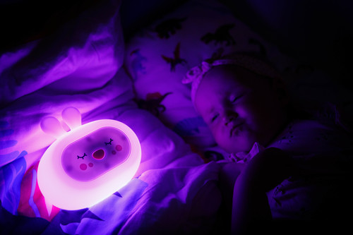 InnoGIO Silikonowa szumiąca lampka nocna GIOsleepy Bunny GIO-134 (21)