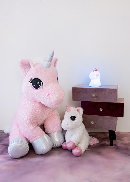 InnoGIO Maskotka GIOplush Unicorn Rosa GIO- 818ROSA 60cm (9)