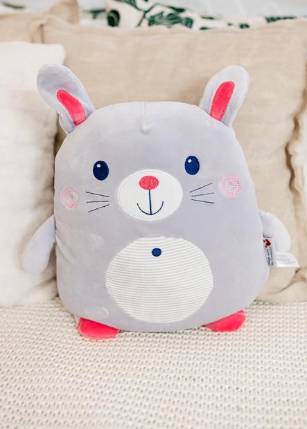 InnoGIO Maskotka GIOplush Rabbit Gray GIO-822 (8)