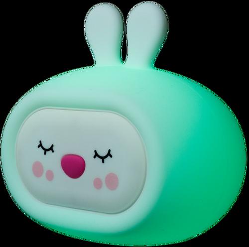 InnoGIO Silikonowa szumiąca lampka nocna GIOsleepy Bunny GIO-134 (6)