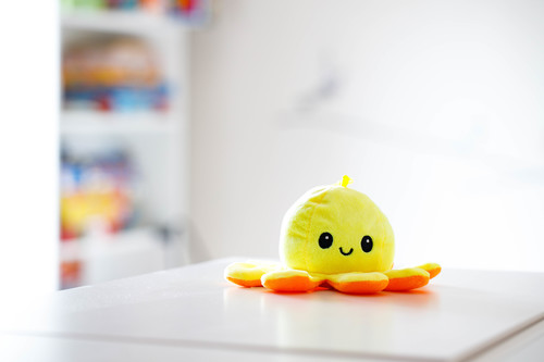 InnoGIO Maskotka GIOplush GIOoctopus Orange/ Yellow GIO-830YO (9)