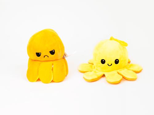 InnoGIO Maskotka GIOplush GIOoctopus Orange/ Yellow GIO-830YO (7)