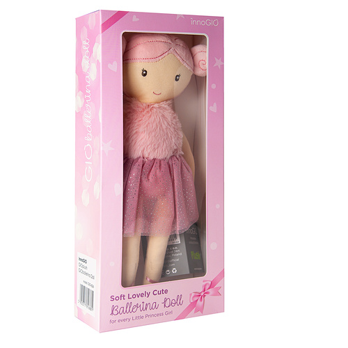 InnoGIO Maskotka GIOplush GIOballerina Doll GIO-826 (6)
