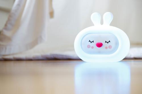 InnoGIO Silikonowa szumiąca lampka nocna GIOsleepy Bunny GIO-134 (18)