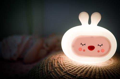 InnoGIO Silikonowa szumiąca lampka nocna GIOsleepy Bunny GIO-134 (9)