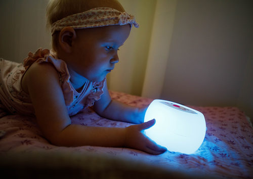 InnoGIO Silikonowa szumiąca lampka nocna GIOsleepy Bunny GIO-134 (14)