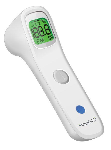 InnoGIO Bezdotykowy termometr czołowy na podczerwień GIOfast GIO-515 (2)