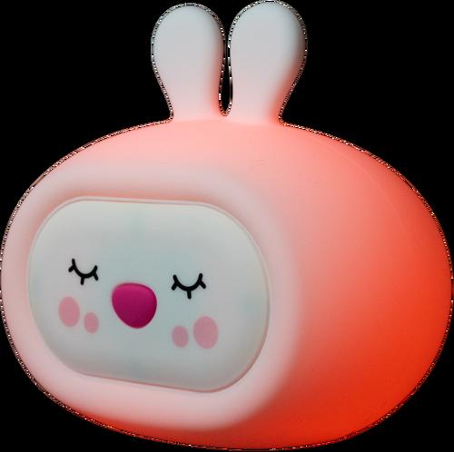 InnoGIO Silikonowa szumiąca lampka nocna GIOsleepy Bunny GIO-134 (5)